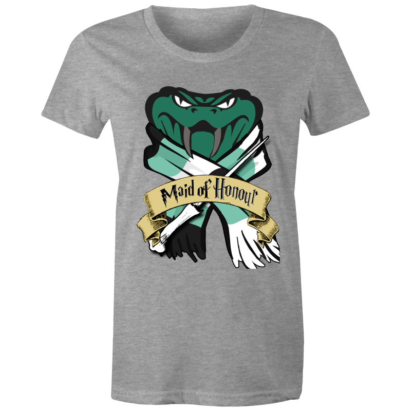 HP - SLYTHERIN MAID OF HONOUR - POTTER WEDDING - Womens T-shirt