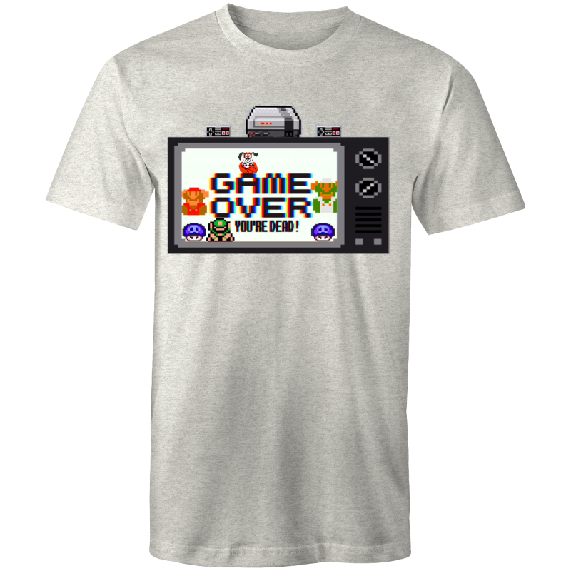 GAME OVER - Mens T-Shirt - Everything Sweaties