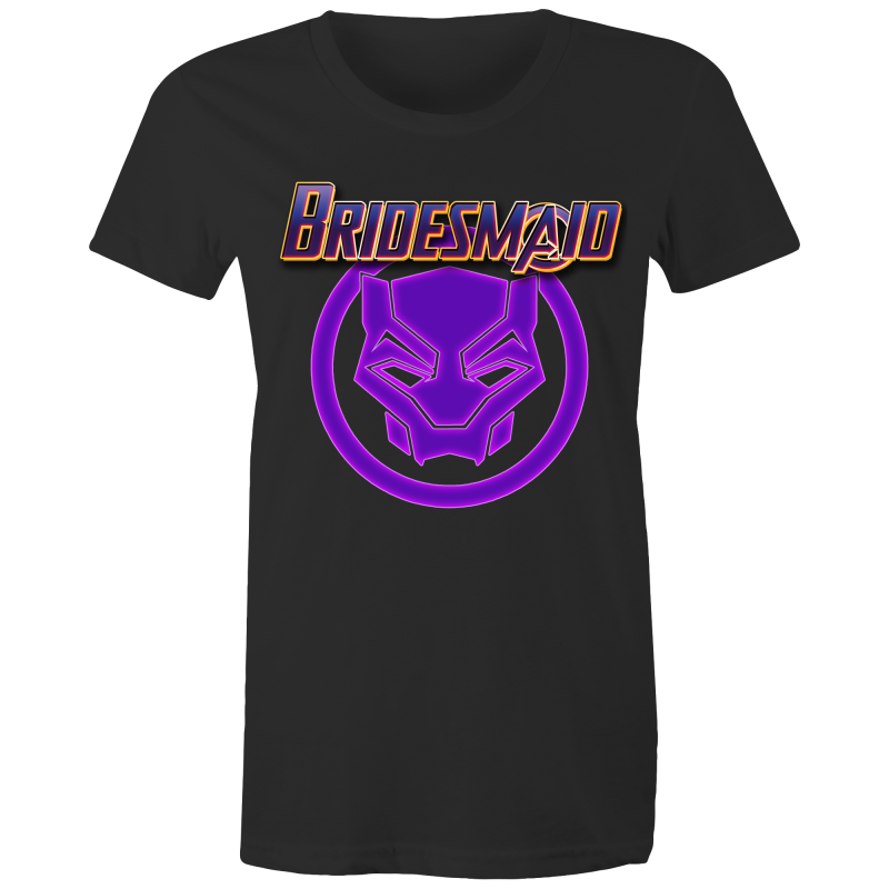 AVENGERS TCHALLA BRIDESMAID - Womens T-shirt
