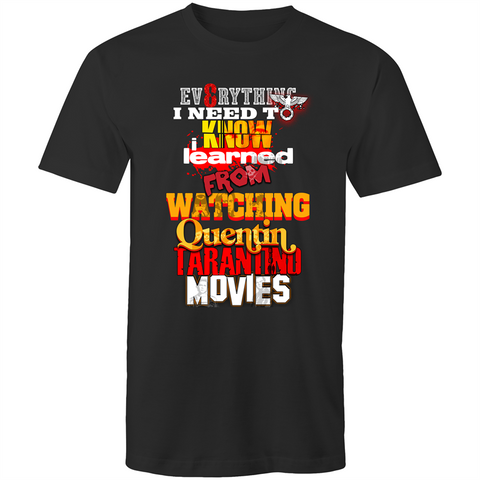 EVERYTHING TARANTINO - Mens T-Shirt