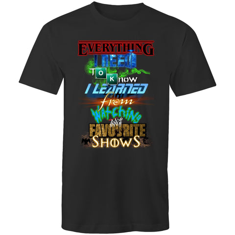 EVERYTHING FAVOURITE SHOWS - Mens T-Shirt