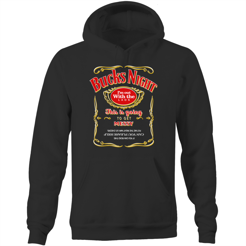 JD RED BUCKS NIGHT - Pocket Hoodie Sweatshirt