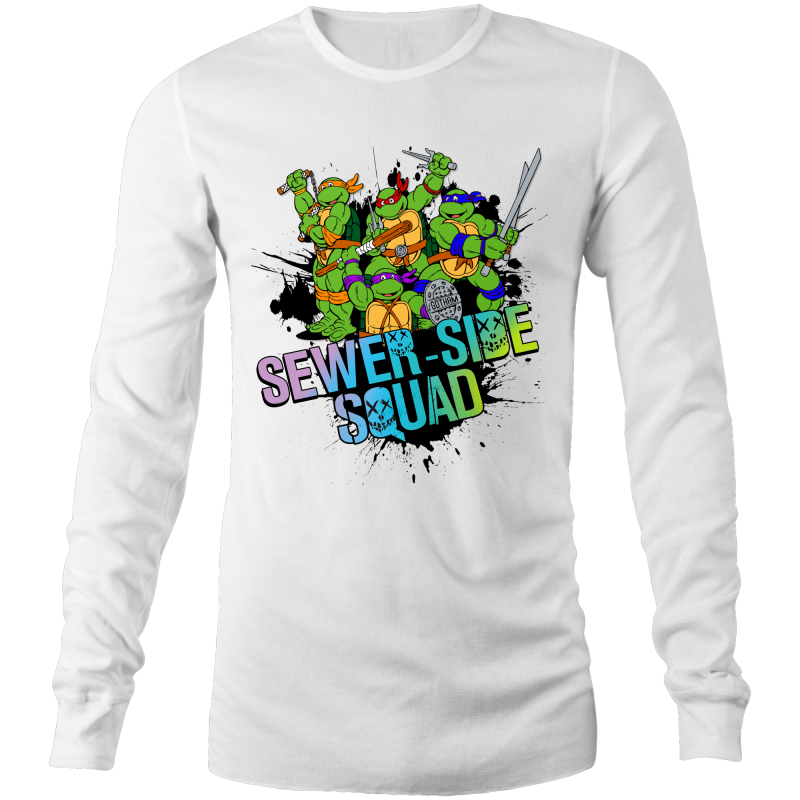 TMNT SEWER-SIDE SQUAD - Long Sleeve Shirt
