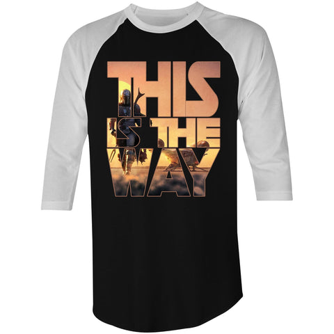 THIS IS THE WAY - 3/4 Sleeve T-Shirt