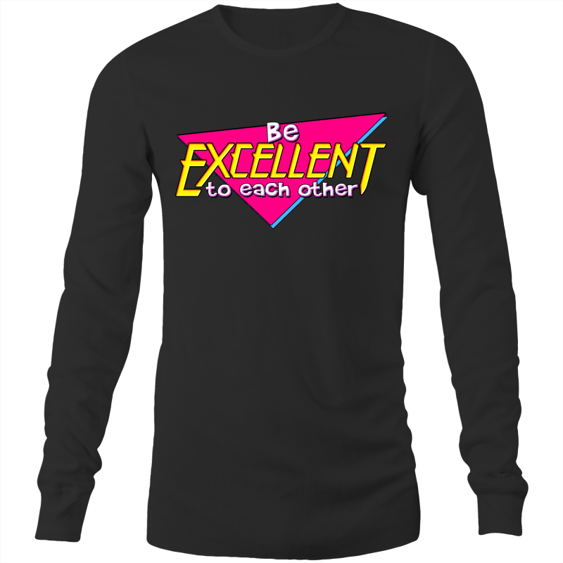 BE EXCELLENT TO EACH OTHER - Mens Long Sleeve T-Shirt