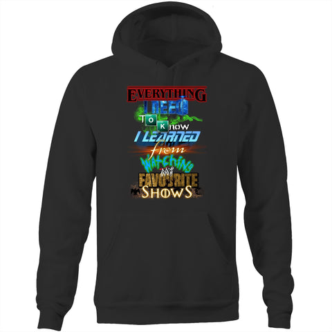 EVERYTHING FAVOURITE SHOWS - Pocket Hoodie Sweatshirt