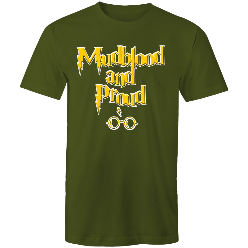 MUDBLOOD AND PROUD - Mens T-Shirt - Everything Sweaties