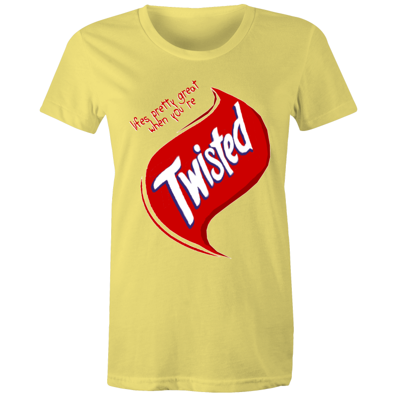 TWISTED - Womens T-shirt
