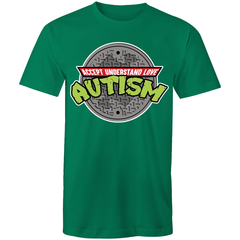 TMNT AUTISM AWARENESS- Mens T-Shirt
