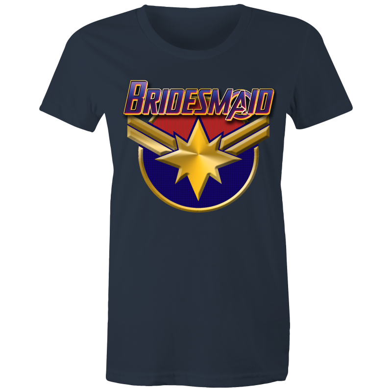 AVENGERS DANVERS BRIDESMAID - Womens T-shirt