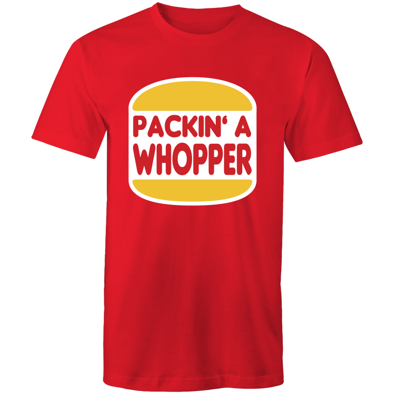 PACKIN A WHOPPER - Mens T-Shirt