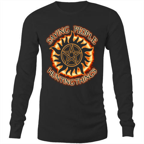 SUPERNATURAL 'THE FAMILY BUSINESS' - Long Sleeve T-Shirt