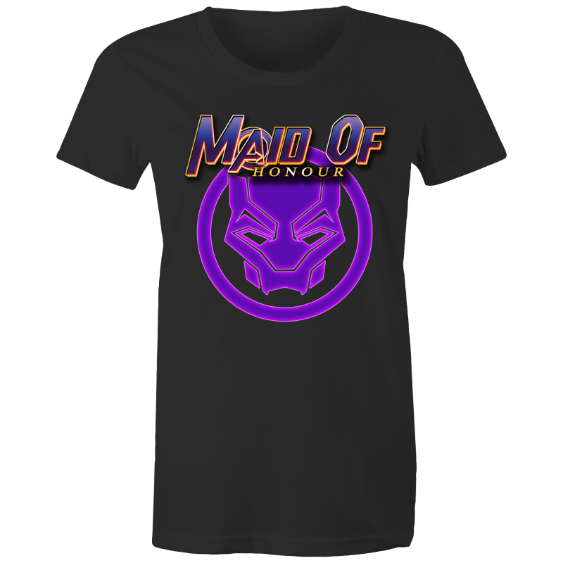 AVENGERS TCHALLA MAID OF HONOUR - Womens T-shirt