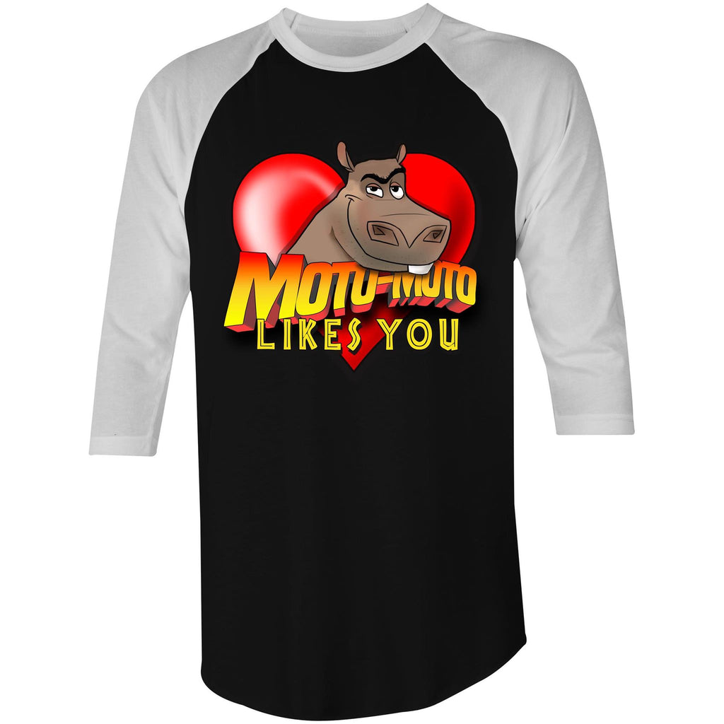 MOTO MOTO LIKES YOU - 3/4 Sleeve T-Shirt