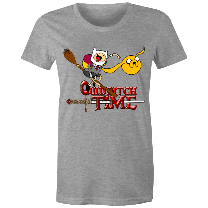 QUIDDITCH TIME - Womens T-shirt