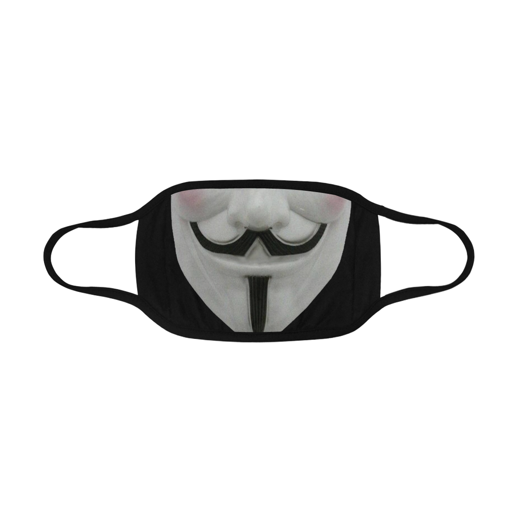 GUY FAWKES FACE MASK WITH PM2.5 FILTERS