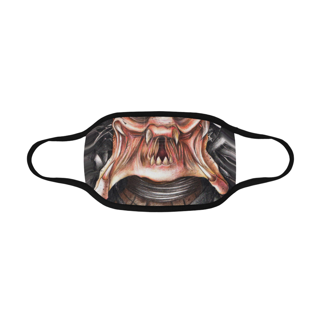 PREDATOR FACE MASK WITH PM2.5 FILTERS