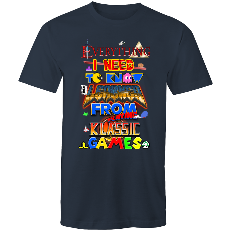 CLASSIC GAMES - Mens T-Shirt