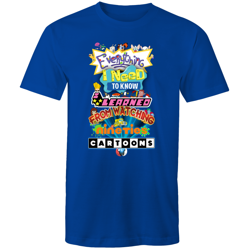 90S CARTOONS - Mens T-Shirt