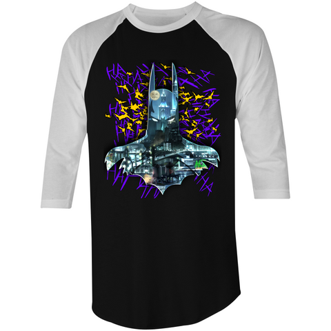 BATMAN GOTHAM - 3/4 Sleeve T-Shirt