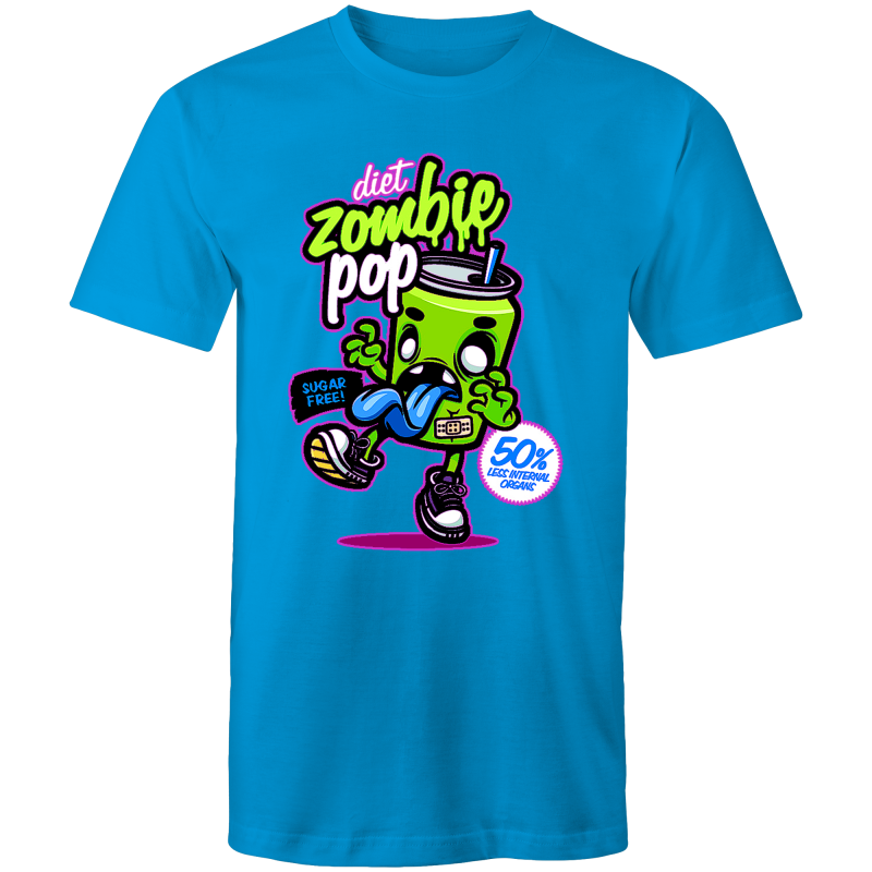 DIET ZOMBIE POP - Mens T-Shirt