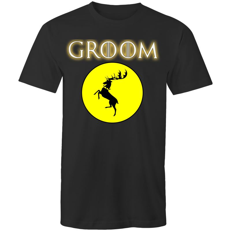 HOUSE BARATHEON - GROOM - Mens T-Shirt