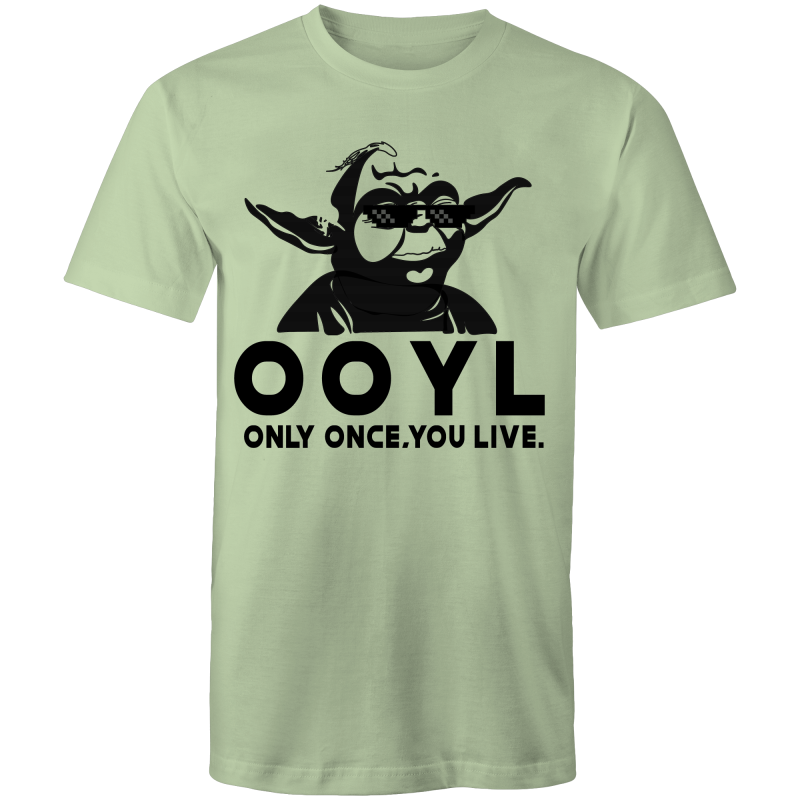 O.O.Y.L YODA - Mens T-Shirt - Everything Sweaties