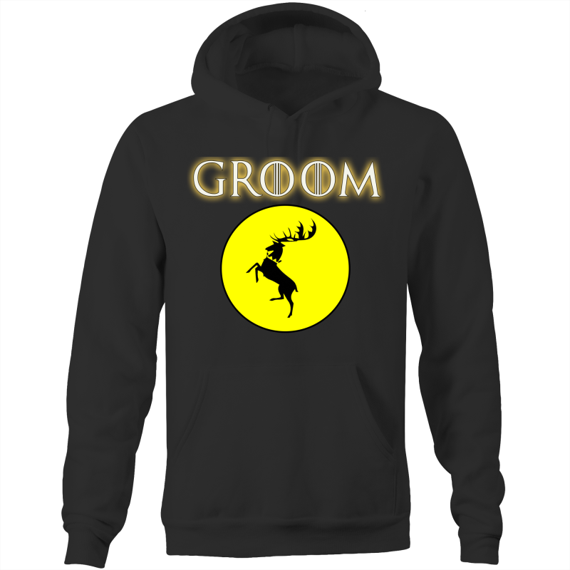 HOUSE BARATHEON - GROOM - Pocket Hoodie Sweatshirt