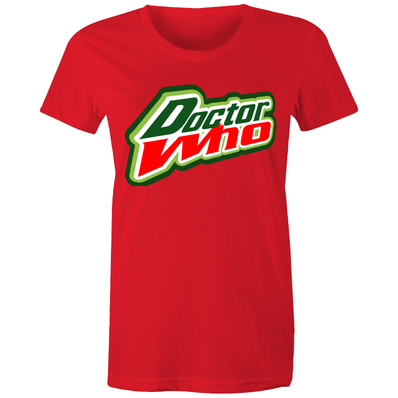 DOCTOR WHO (DEW) Womens T-shirt - Everything Sweaties
