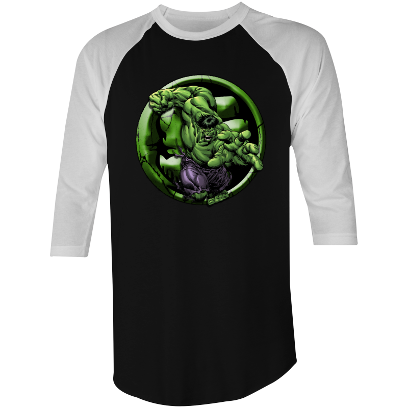 HULK - 3/4 Sleeve T-Shirt