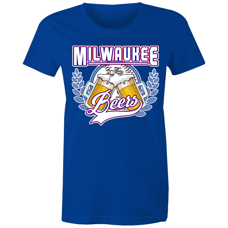 MILWAUKEE BEERS BASEKETBALL - Womens T-shirt
