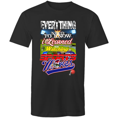 Everything Sports Movies - Mens T-Shirt