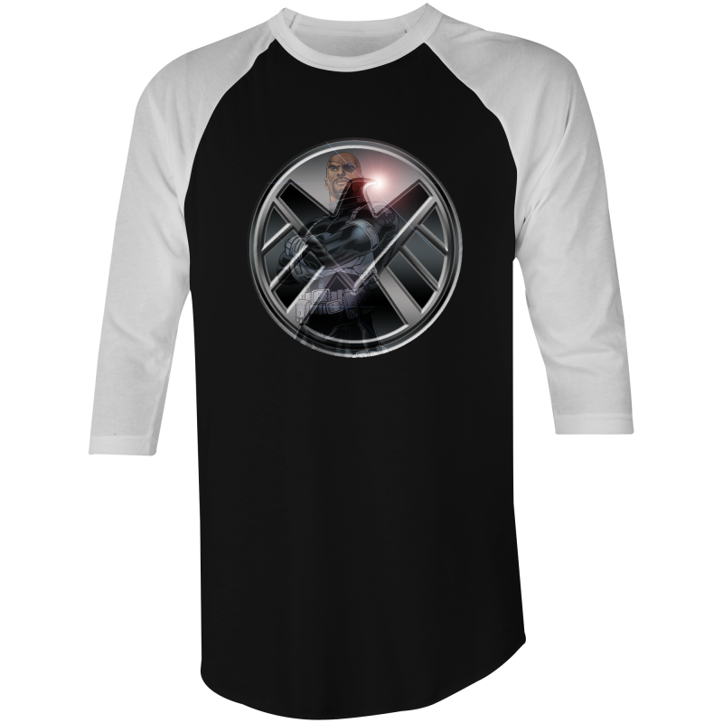 NICK FURY - 3/4 Sleeve T-Shirt