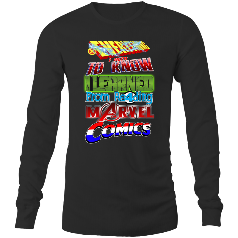 MARVEL COMICS ❤ - Long Sleeve T-Shirt