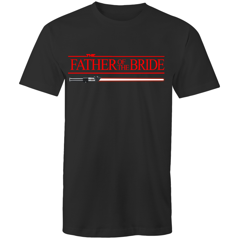 SW - FATHER OF THE BRIDE - JEDI WEDDING - Mens T-shirt