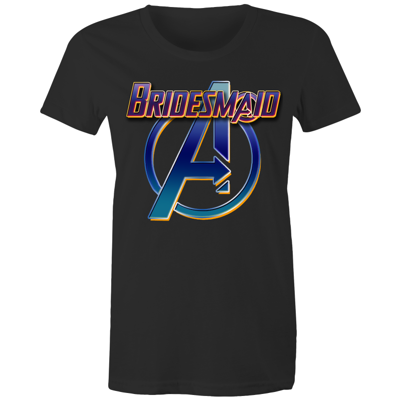 AVENGERS LOGO BRIDESMAID - Womens T-shirt