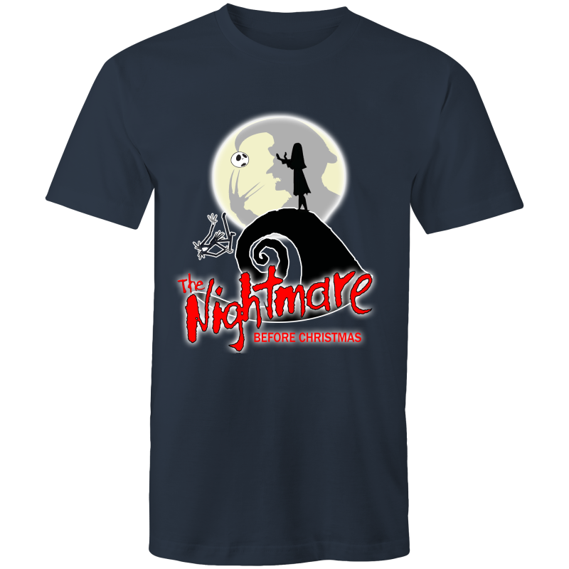 THE NIGHTMARE BEFORE CHRISTMAS - Mens T-Shirt - Everything Sweaties