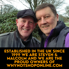 Steven And Malcolm The Owners Of Why Not Shop Online