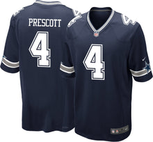 Load image into Gallery viewer, Dallas Cowboys Dak Prescott Jersey