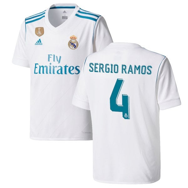 huge discount 667b1 c775e Real Madrid Ramos Jersey
