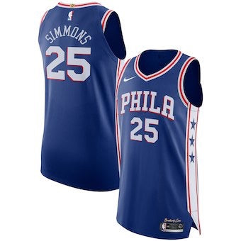 new arrival a59d8 9f7bc Philadelphia 76ers Ben Simmons 2018/2019 Jersey's ALL STYLES