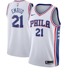 Load image into Gallery viewer, Philadelphia 76ers Joel Embiid 2018/2019 Jersey's ALL STYLES