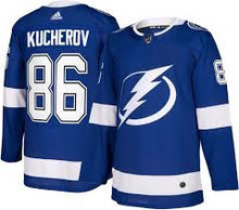 Load image into Gallery viewer, Tampa Bay Lightning Nikita Kucherov NHL Jersey