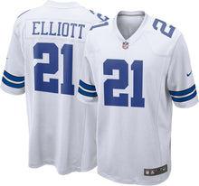 Load image into Gallery viewer, Dallas Cowboys Ezekiel Elliot Jersey