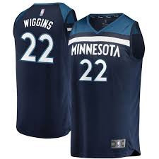 Minnesota Timberwolves Andrew Wiggins  2018/2019 Jersey's ALL STYLES