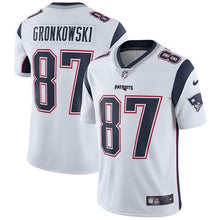 Load image into Gallery viewer, New England Patriots Rob Gronkowski Jersey