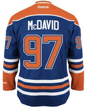 Load image into Gallery viewer, Edmonton Oilers Connor McDavid NHL Jersey