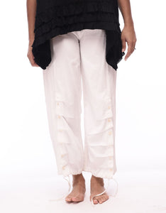 Scooter Pant in White