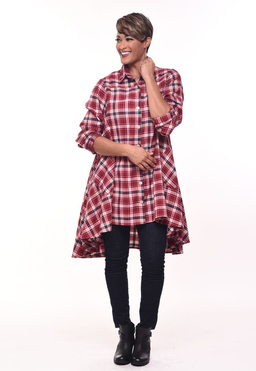 Lulu in Christie Plaid