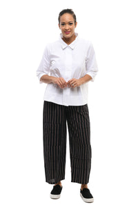 Metro Pant in Drysdale Stripe (cotton/linen)